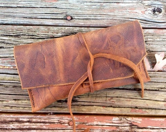 Pipe Pouch XL-Distressed