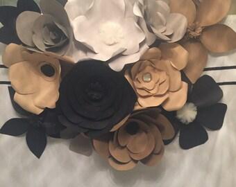 Paper Flowers, paper flower backdrop