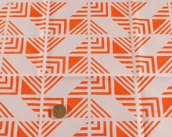 Coupon of orange fabrics / 50 x 50 cm / 100% cotton