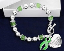 Tissue and Organ Donor Awareness Charm Bracelet