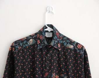 Laura Ashley — Early 1980s Vintage Paisley Tunic