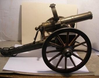 Detailed Scale Model of 1863 Gatling Gun