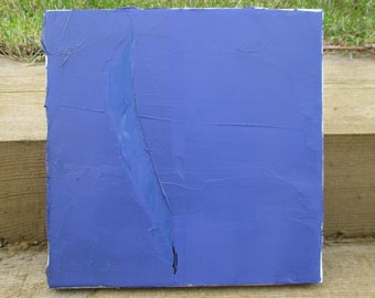 Purple and Blue abstract painting