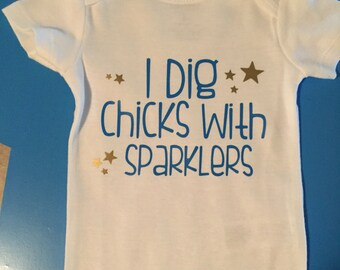 Fourth of July onesie size 0-3 mos. one is stock