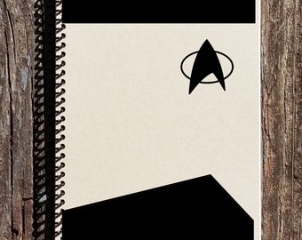 Star Trek Uniform Notebook - Star Trek Notebook - Star Trek Gift Ideas - Star Trek Journal
