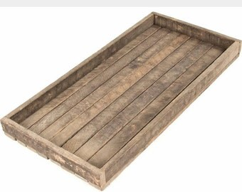 Wooden  tray 12  x 24