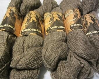 """Pure Virgin Wool ~ """"Artisan"""" by Kamouraska Yarns ~ 100 gr., 2 ply, 195 m per skein"""