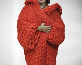 BIG SALE Wool Coat, Chunky sweater , Chunky knit Coat, Knit Coat, Chunky knitted Coat, Winter Coat, Winter knitted Coat, Merino wool coat