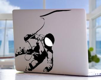 Astronaut Space NASA Moon Earth Planets Solar System Mac MacBook Laptop Vinyl Decal Sticker