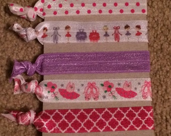 Ballerina Elastic Hair Ties
