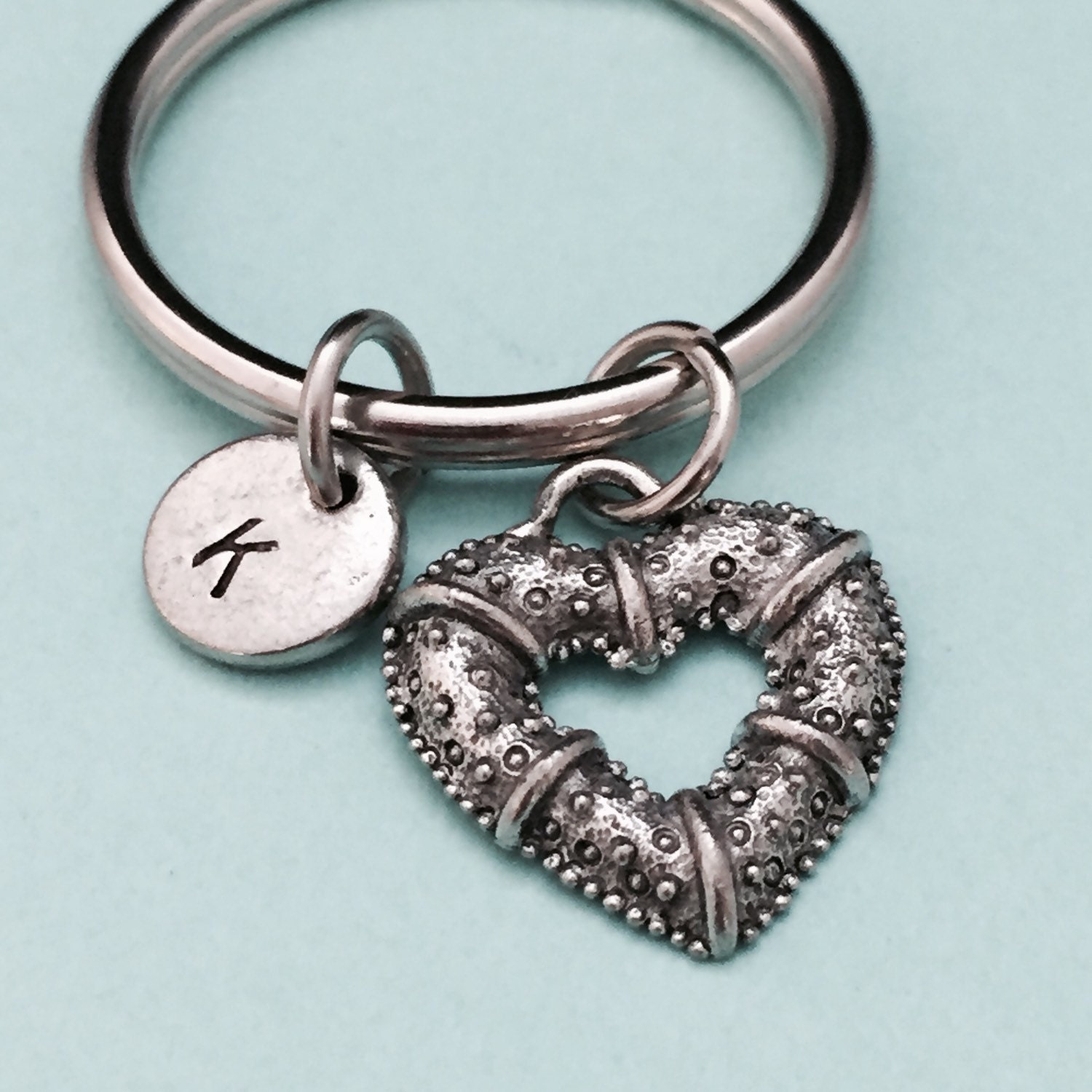 Heart Keychain Valentine S Day Keychain Love Keychain Couples