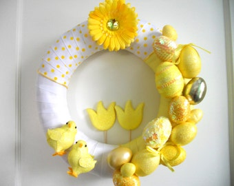 Easter Wreath - Spring Chicks