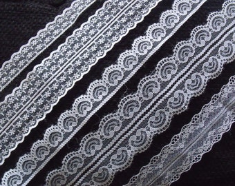 Lace collection - 5 designs - 1m of each