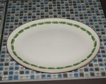 Franciscan, Arcadia Green, 12 inch oval serving platter