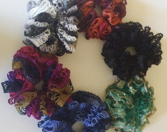 Ponytail Scrunchie Hair Accessory, 6 colors to choose from