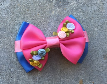 Spring hairbow