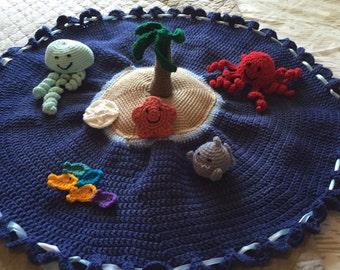 Crocheted Island bag & friends