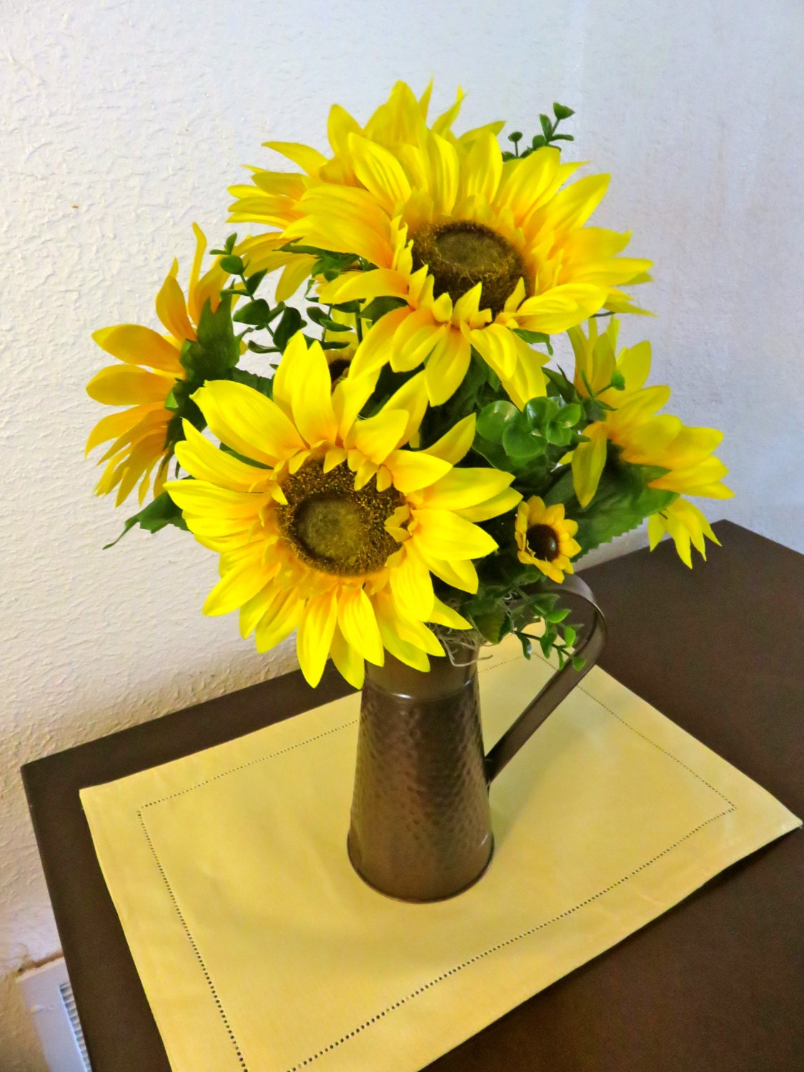 Sunflower arrangement sunflowers decor summer
