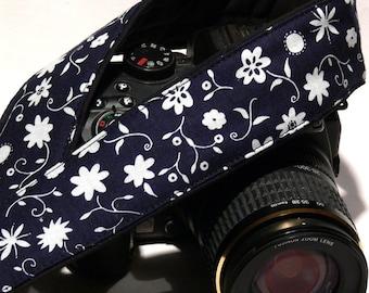 FlowersCamera Strap. DSLR Camera Strap. Canon Nikon Camera Strap. Camera Accessories