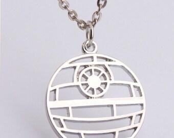 Star Wars Death Star Necklace!