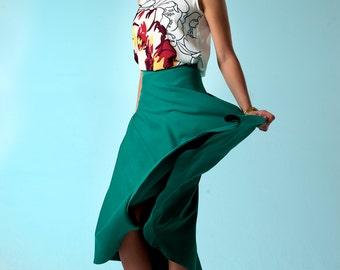 Skirt green or blue (jersey)