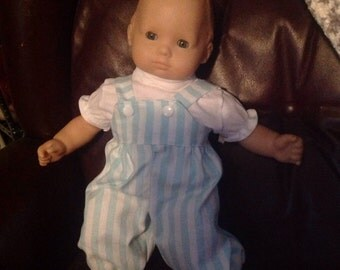 Bitty baby cute overalls and shirt