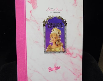 Mattel The Great Eras Collector Edition Grecian Goddess Barbie Doll New In Box