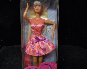 Mattel Valentine Barbie vintage New in box