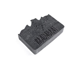 """BRADABRAT """"CARBON"""" - Beard and Body Soap The Essential First Step in Caring for Your Beard and Skin 