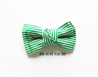 PIN-STRIPE bow