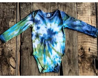 Reef tyedye onesie /  size 18-24 months