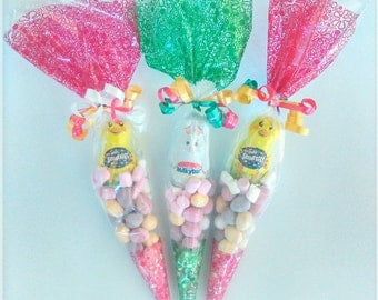 Easter Sweet Cones Party Easter Egg Hunt wedding favour