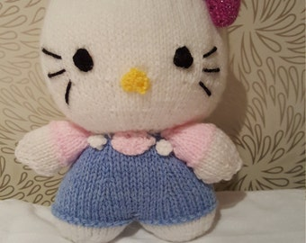 Knitted Hello Kitty