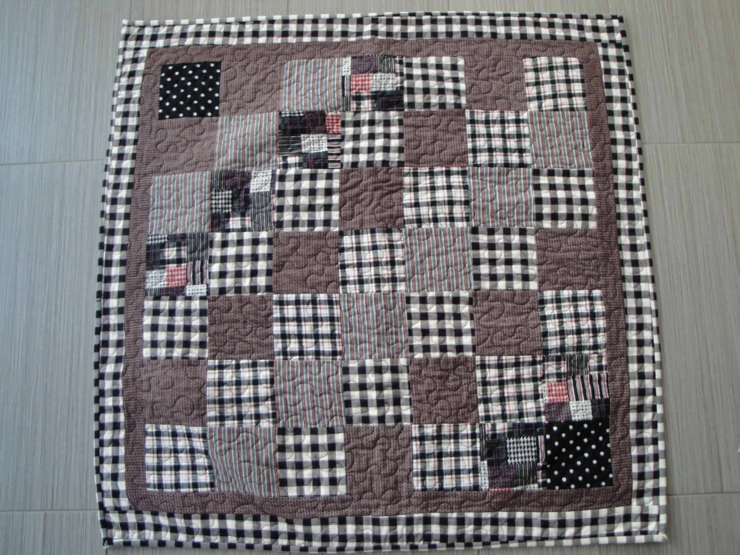 Plaid Baby Quilt: Baby Quilt Plaid Flannel