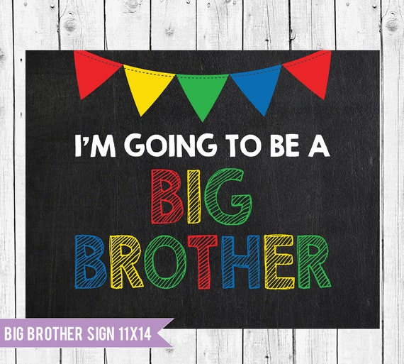 Pregnancy Announcement // Big Brother Sign // Im Going To Be A