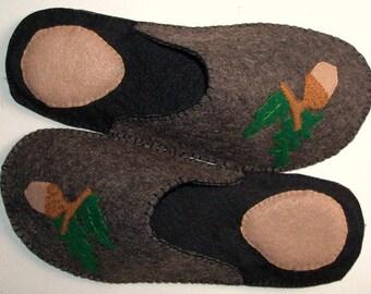 FELT SLIPPERS-Felt Slippers