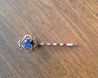 Upcycled Hair Pin Bobby Pin Rhinestone Hair Jewelry