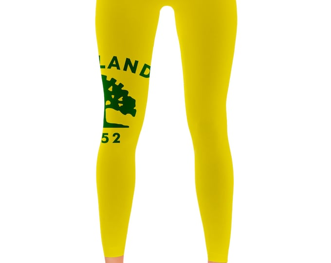 Oakland California City Flag Leggings - My State Shirts