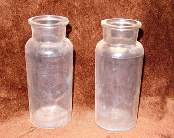 Apothecary/chemical bottles