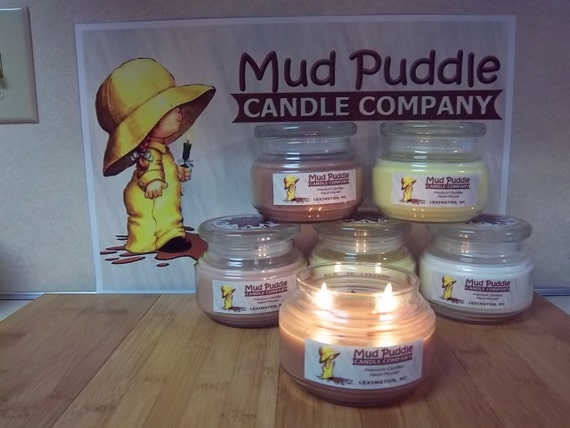BUTTERCREAM  8oz hand poured premium scented jar candle