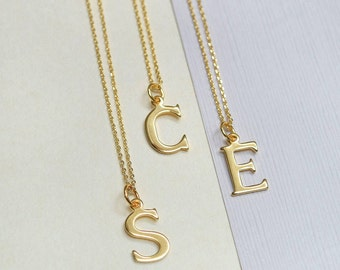 Personalised Gold Initial Necklace