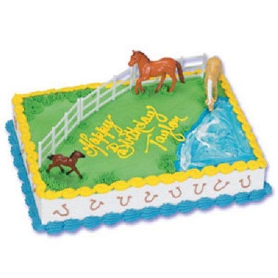 Plastic Horse Cake Toppers
