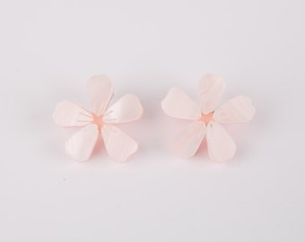 Cherry Blossom Acrylic Necklace