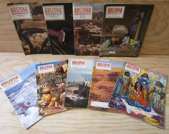 1972 Arizona Highways Magazines Nine Vintage Issues * Ted de Grazia Prints