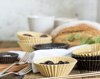 Ceramic Small Bowls,Tapas Plate,Baking Cups,Ice Cream bowls,Baking Dish,Housewarming Gift,READY TO SHIP!!