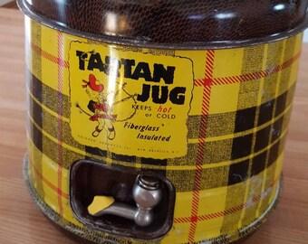 Vintage Tartan Thermos