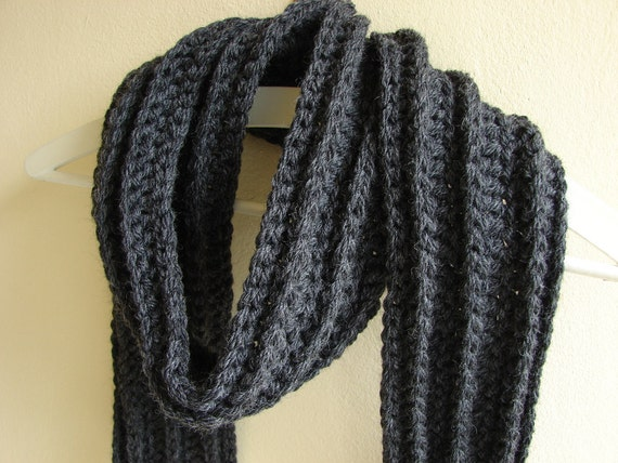pattern chunky scarf crochet mens scarf crochet bulky scarf mens ...