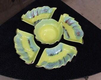 Vintage serving plates