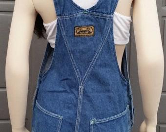 Vintage Washington Dee Cee Sanforized denim  Overalls up to 34 inch waist Small-Medium