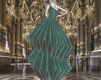 The Beauty - Fashion Illustration, Fashion Drawing ,Fashion, Art Print by Ivan Kolev